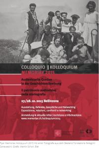 Memoriav - Memoriav Kolloquium 2015#cmk2015_2015-09-28_09-02-05