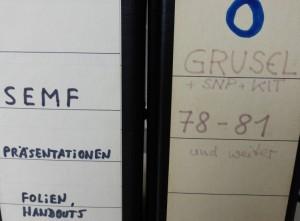 Beschriftung nicht nach ISO 15489 (Fot: Thorsten Unger)