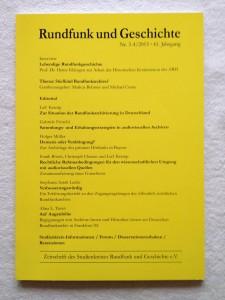 Inhaltsverzeichnis des Heftes RuG 3-4/2015